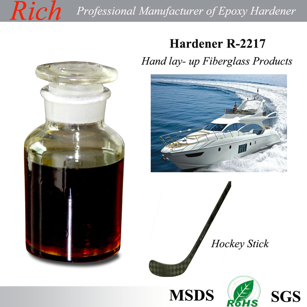 Composite Epoxy Curing Agent, Hand Lay-up FRP, Epoxy Flooring Middle and Primer Coatings Epoxy Hardener R-2217
