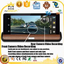 "Android full touch 7""2 in1 car dvr gps navigation,car dvr dash camera 1080,car dvr dash camera with BT FM 3G WIFI Full-featured"