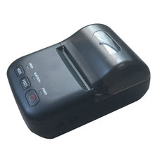 thermal printing 58mm mini bluetooth mobile printer with uk eu us adapter