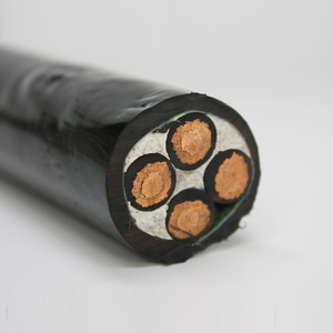 Copper Conductor 3 Phase 4 Wire 4 Core DC 24V Power Cable