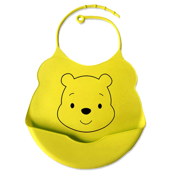 hot sale washable plastic silicone rubber baby bibs