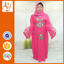 2016 dubai plus size latest abaya designs women clothing sronger embroidery silk kaftan