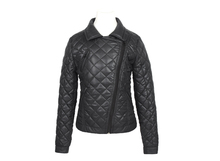 2016 latest designs lady casual fashion women leather jacket for wholesale winter coat leather