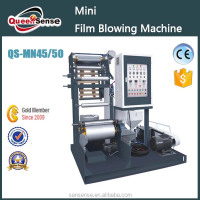 Mini LDPE HDPE PE Blown Film Extruder, Extruder Machine For Plastic Film