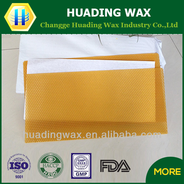 Supply Best In Sale Chinese Beeswax Foundation sheets
