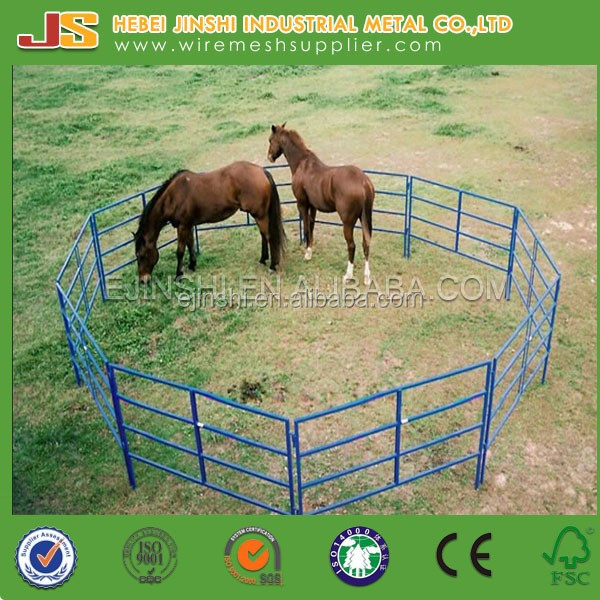 Steel Wire Strengthened Flex Rail Horse Fence