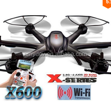 Newest Arrival MJX X600 rc quadcopter 2.4G rc Hexacopter 6-axis wifi FPV drone with camera