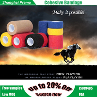 Pet Products for Pony Printed Vet Wrap Horse Bandage Sport Protection Discount High Quality Cohesive Bandage .