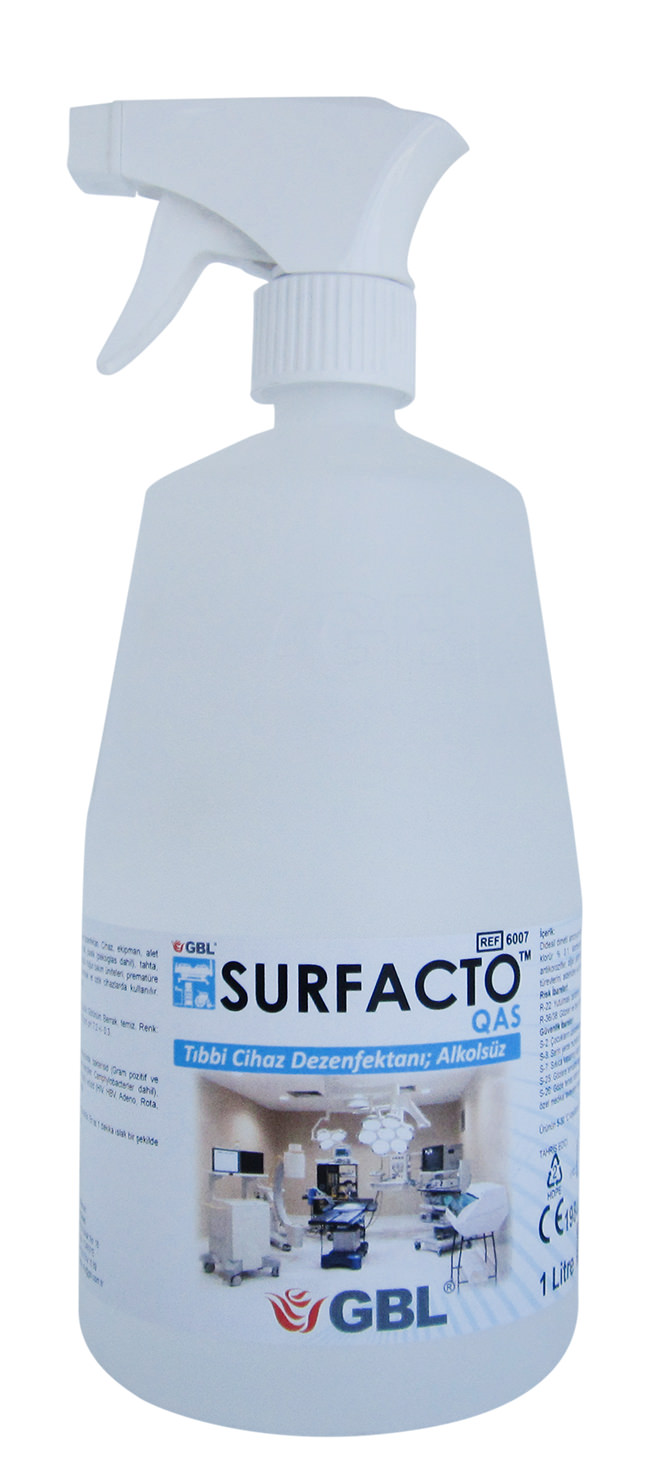 6007 - SURFACTO QAS Medical Device Surface Cleaner Disinfectant; Alcohol-Free