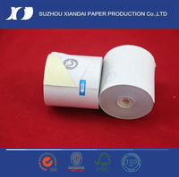 2013 top quality NCR 2 ply copy paper roll office paper