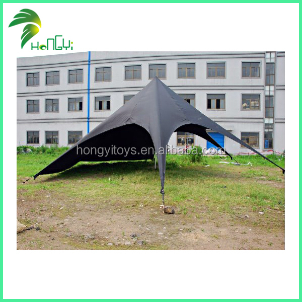 Oxford cloth and galvanize material roof top shelther double star tent
