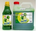 concentrated green apple juice
