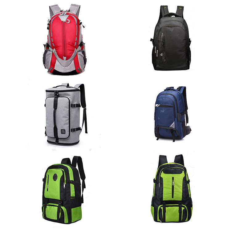 Reflective Custom  Waterproof Hiking Camping Backpack For Outdoor