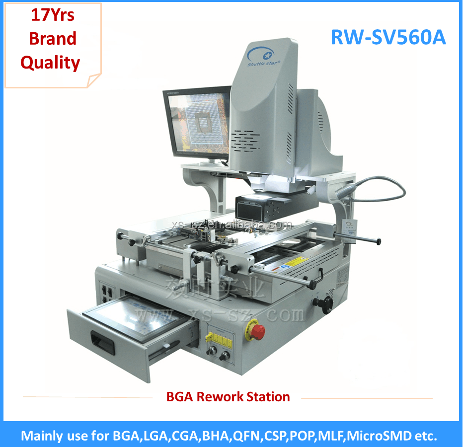 Shuttle Star mobile phone bga rework station RW-SV560A for XBOX PS2 PS3 Wii X360 laptop motherboard