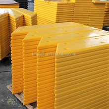 High quality wear resistant uhmwpe plastic sheet/ Pier Apron