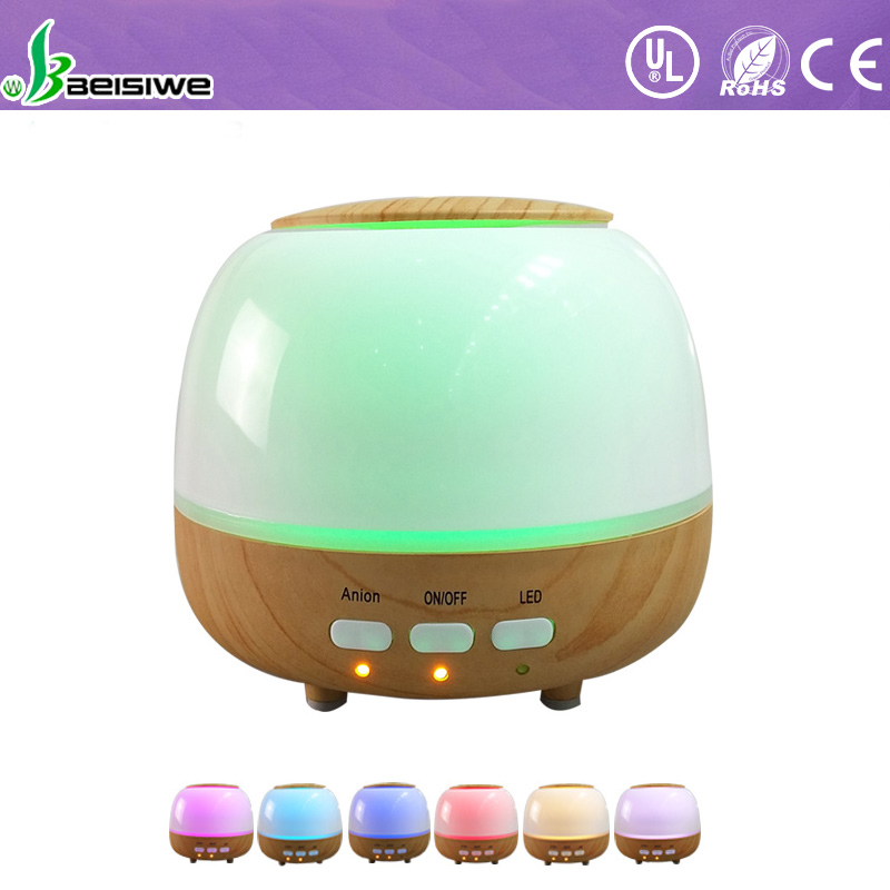 High Safety professional scent flexible wooden electric ultrasonic essential oil diffuser for home and spa