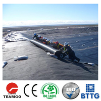 ASTM standard eco-friendly and anti-seepage geomembrane for subway construction/canals/dams/golf course pond/land fill hdpe geom