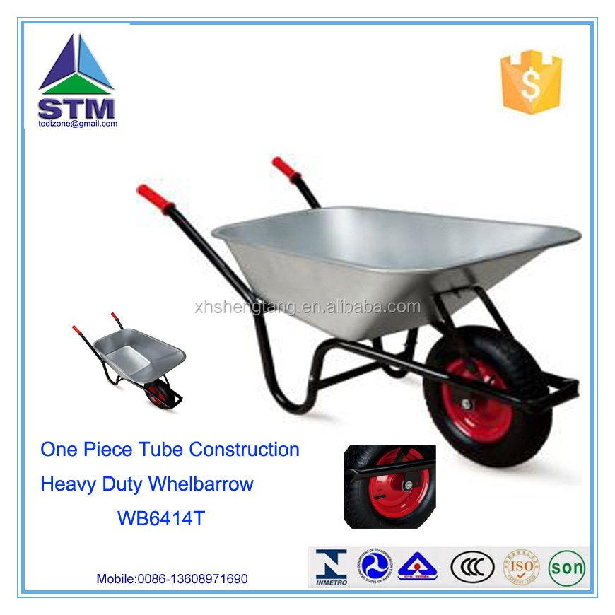 Farm and Concrete Stronger Wheelbarrow WB6414T