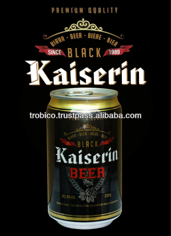 High Alcohol Kaiserin Black Beer