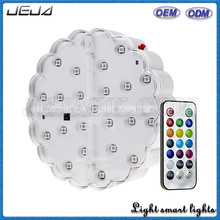 6 Inch Rechargeable Led Base With Remote
