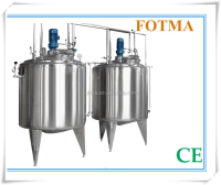 Lotion emulsifying machine and liquid mixing tank