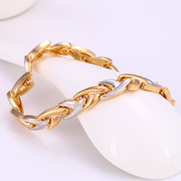 Xuping Jewelry fashion snap multicolor bracelet