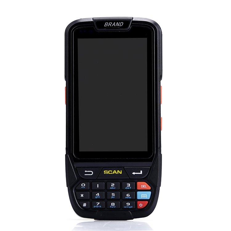 Android handheld barcode device NFC 4inch Android PDA POS Terminal with printer