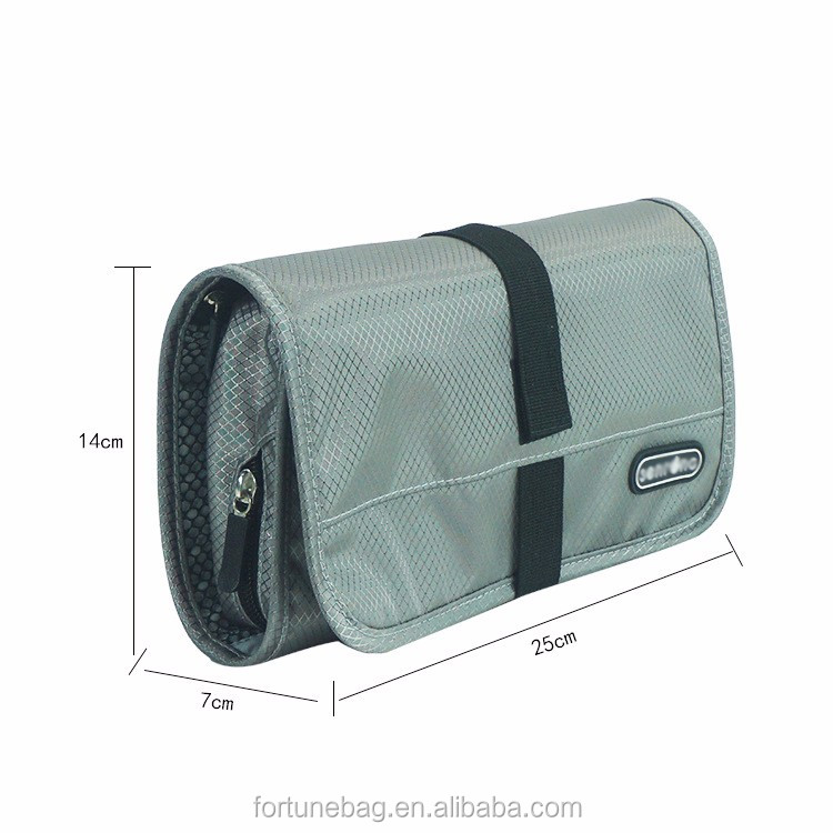 Hot Products Travel toiletry organizer custom logo new multifunctional cosmetic roll bag business trip storage bag