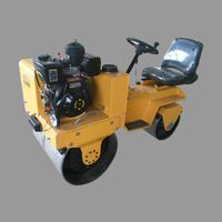 Factory Directly China cheap smooth double drum wheel road roller
