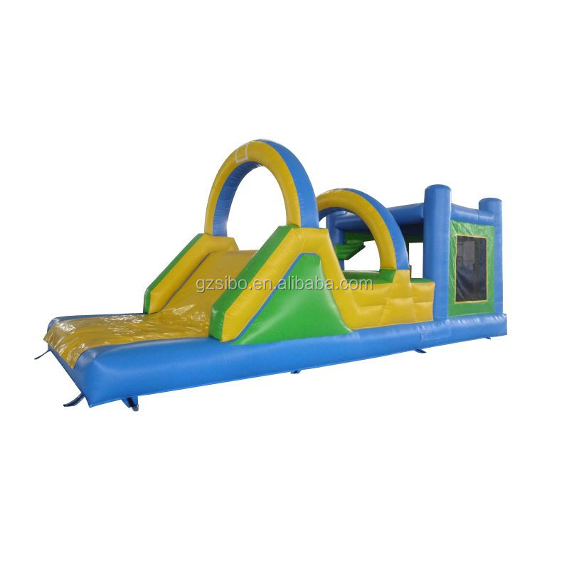 cheap price adult inflatable water obstacle course for outdoor