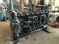 Beautiful wrought iron fence arts and crafts Anping large factory supply