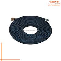 HR07-02-02 High Pressure Cleaning Hose Black Carpet Cleaning Solution Hose