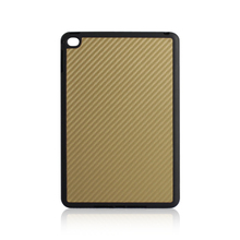 Newest TPU+PC carbon fiber leather case phone cover for iPad Mini 4, custom phone case