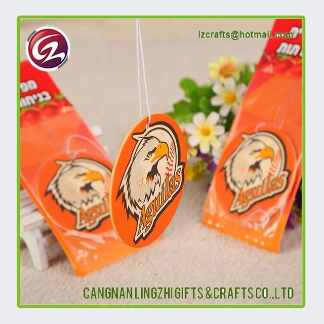 Wholesale China fragrant paper car air freshener