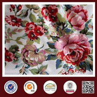 Feimei poly flower fabric tibetan poly knit fabric novelty