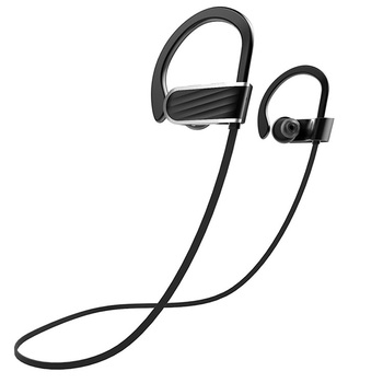 2017 Super Bass radio microphone stereo Universal sport earbuds wireless headset for calling listening music