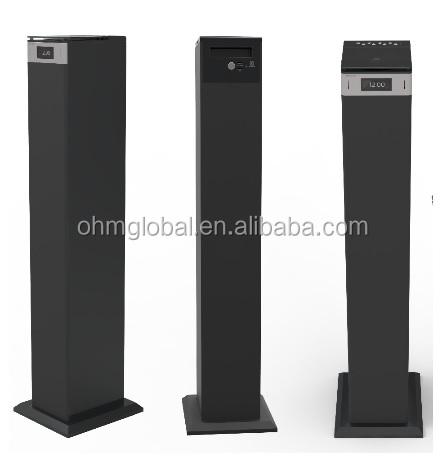 Bluetooth SD CD 2.1Tower Speaker With FM Radio Remote Control OHM150