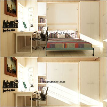 Queen Size Foldaway Bed For Small Space Buy Wall Bed Folding Wall Bed Hidden Wall Bed Product