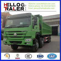 40-60 Tons China 12-Wheel Sinotruk 8X4 HOWO Dump Truck for sale