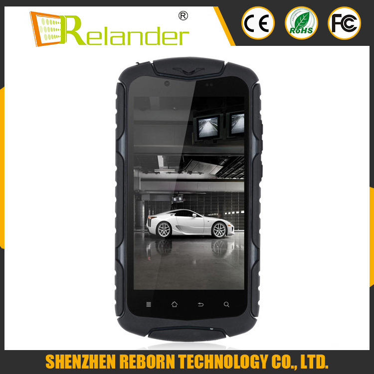 5 Inch Quad Core X1 Waterproof rugged Made in Japan Mobile Phone