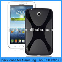 tab3 7.0 p3200 soft silicon back cover tablet case for samsung galaxy tab3 7.0 p3200 cover