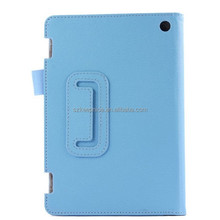 2015 Hot Sale!Two Fold Tablet Cover Case for Amazon Kindle Fire HD 7,Stand Leather Case for fire HD 7 with Stand