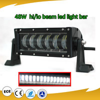 waterproof and dust proof 12 volt led light bar 4x4 48w crees led driving light for trucks,auto parts