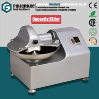 desk type production 120kg/h capacity 8liter food cut up machine TQ8 for vegetable and meat