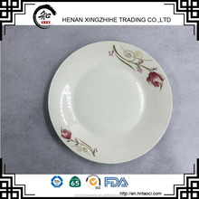 XZH--Tableware Oven safe Ceramic plates & Dishes with decal printing for dining room