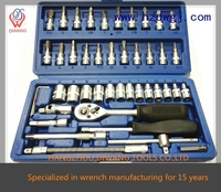 "high quality mini tools set 46pcs socket set (1/4"")"