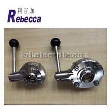 Stainless steel food grade butterfly valve weight