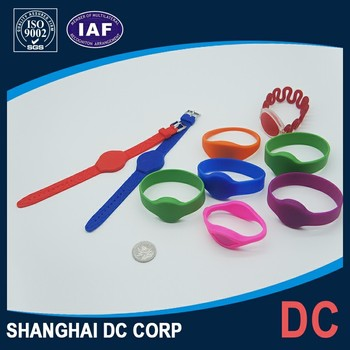Readable and Writable Rfid Wristband for Hotels