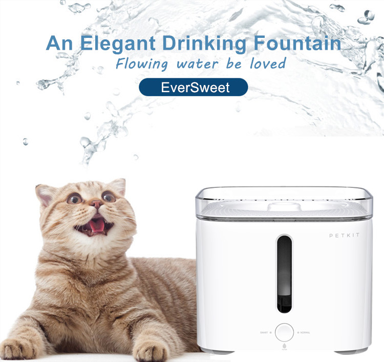 Automatic Smart Petkit eversweet water drinking machine for pet