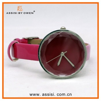 Assisi Wholesale vintage retro wrap bracelet watch quartz leather with colorful